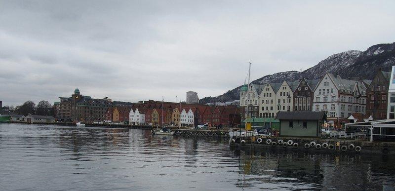 The Bergen Harbour