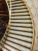 The Swarovski staircase on the MSC Divina