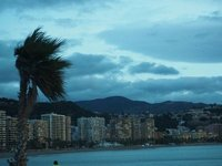 The wind in Malaga