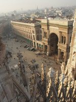 Milan from Duomo