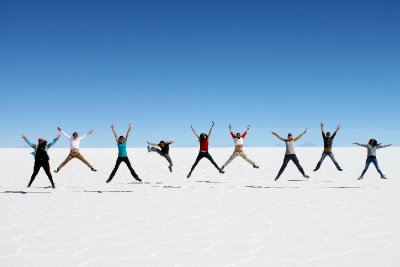 Fun on the Salt Flats