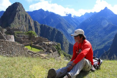 Our Inca guide Alistair