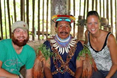 Cuyabena Amazon Shamen
