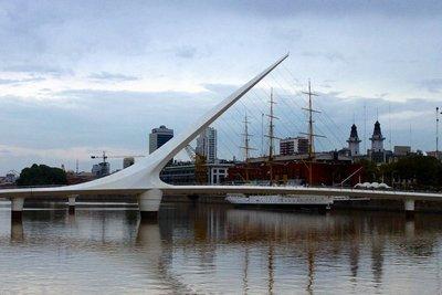 Puerto Madero Bridge - Buenos Aires
