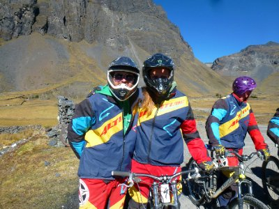 Death Road Mountain Biking - Bolivia