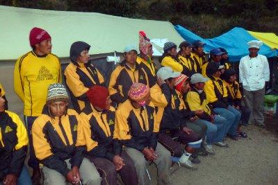 The Inca porters
