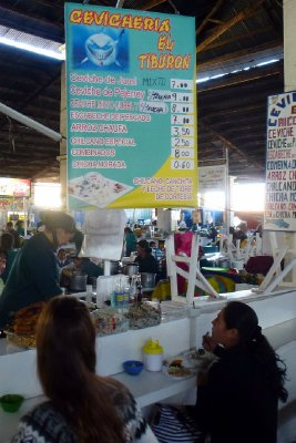 Cusco food market