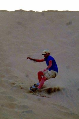 Sandboarding fun