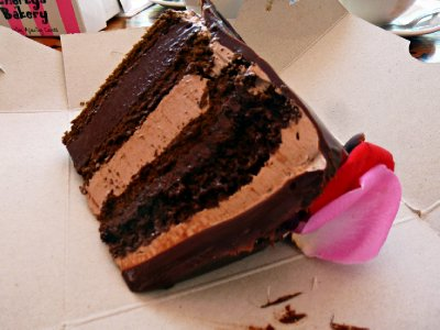 Capetown - Triple chocolate mousse cake - Charly's Bakery