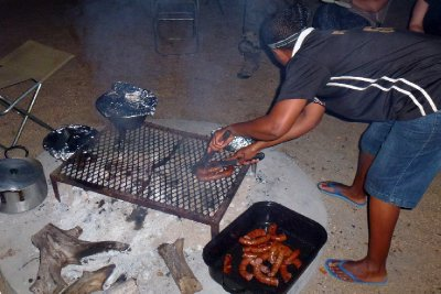 Braai for dinner