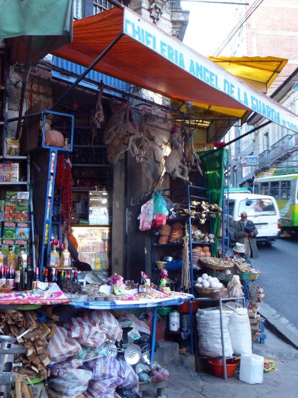Witches Market in La Paz