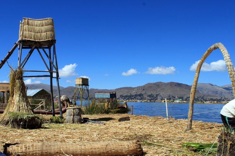 An island of the Uros