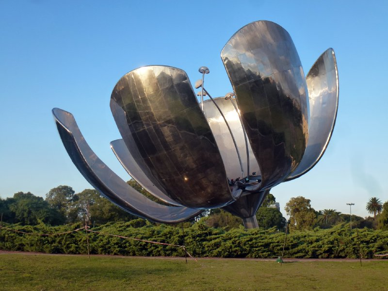 Buenos Aires Flower Sculpture