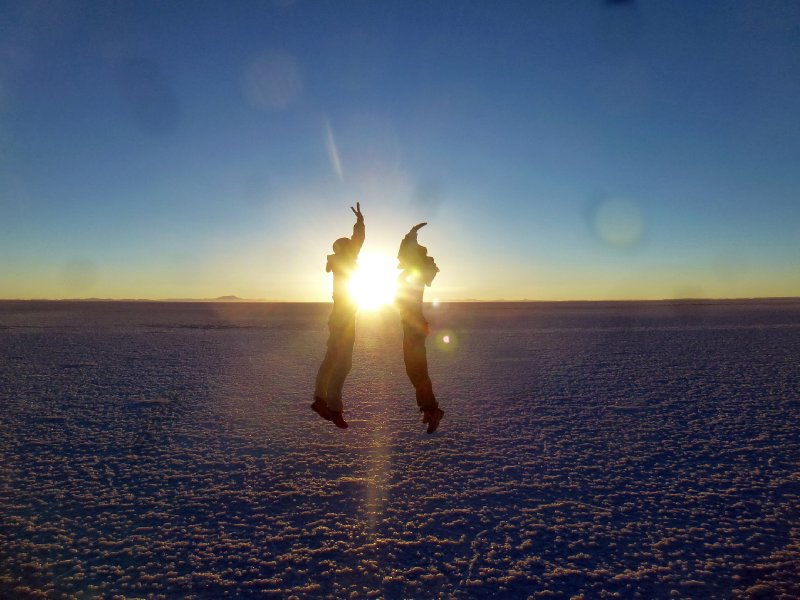 Sunrise High Five - Salar de Uyuni