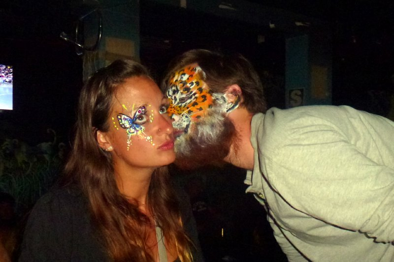 Drunken facepaint exploits