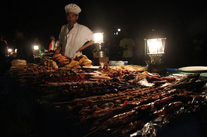 Forodhani Gardens night market
