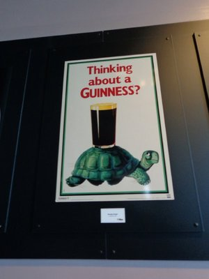A famous Guinness ad