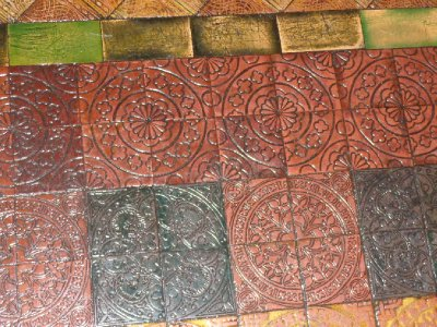 Christchurch floor tiles
