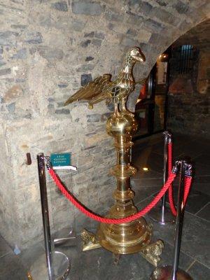 Brass lectern
