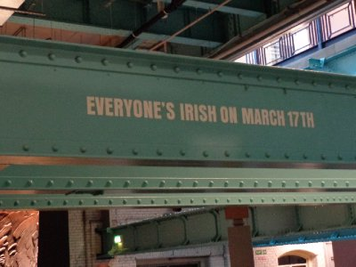 Everyone's Irish on March 17th