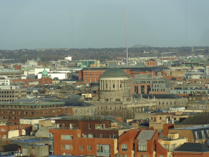 Four Courts and the Spire from the Guinness Storehouse