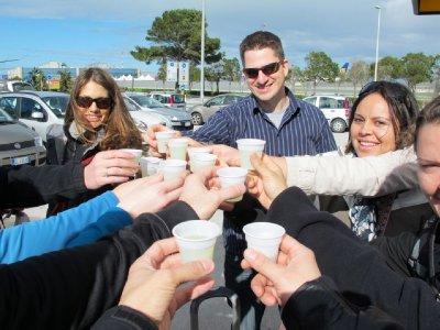 toast to italy!