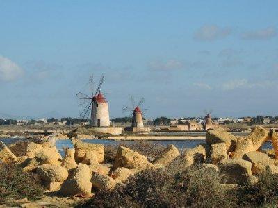 Windmills in Marsala