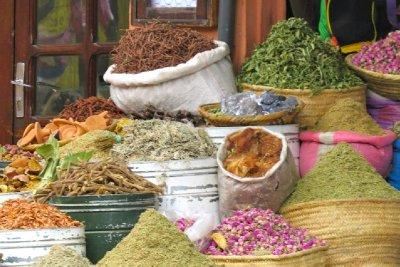 Herbs, spices, teas