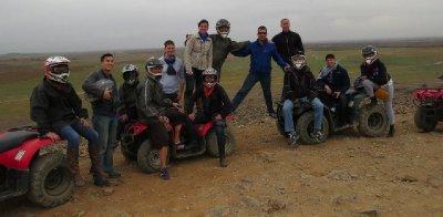 The four wheeling group