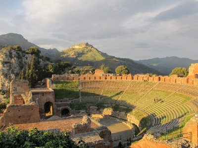Teatro antico di Taormina. Being in this theatre was so powerful
