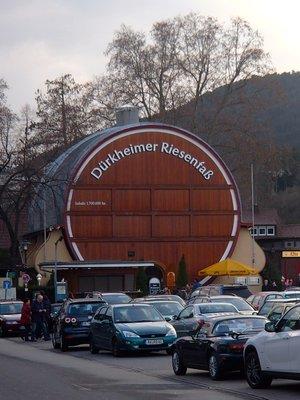 Bad Dürkheim Wine Barrel