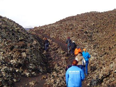 Hiking Mt. Etna