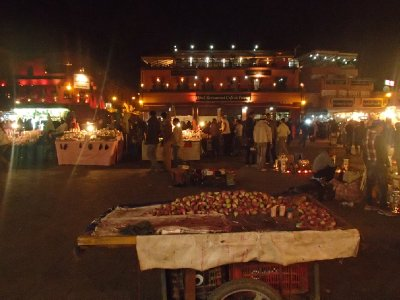 The souks (markets) at night
