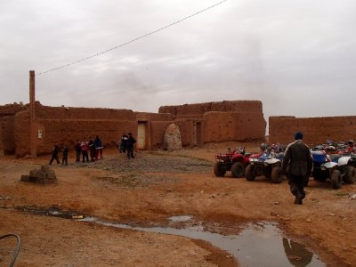 The Berber village...the first people in Morrocco. So cool.