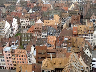 Rooftops of Strasbourg