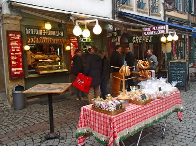 Crepes in Strasbourg