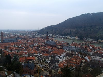 Heidelberg downtown