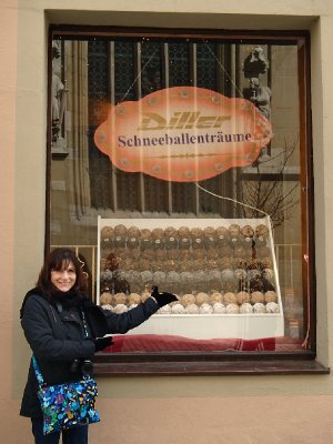 Pastries that are too German for me to remember. S plus alot of letters after that.