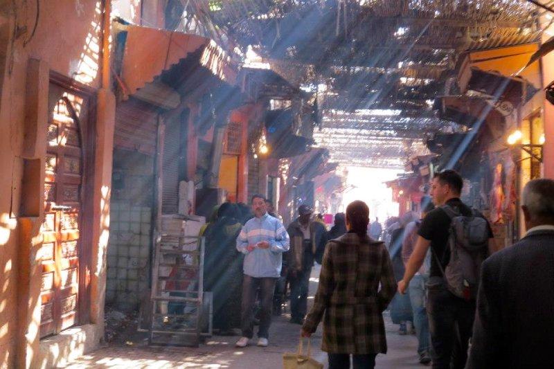 The souks (markets)