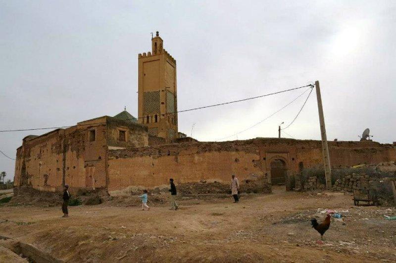 Berber villages we went through while biking