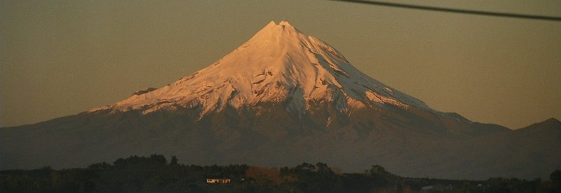 Mt Taranaki at Sunrise