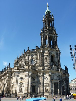 Cathedral of the Holy Trinity) is a Roman Catholic Cathedral in Dresden.
