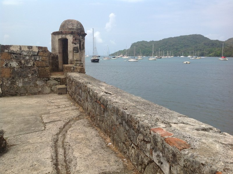 One of the lookouts of the fortress. Who first spotted the bloodthirsty Englishman, Captain Morgan?