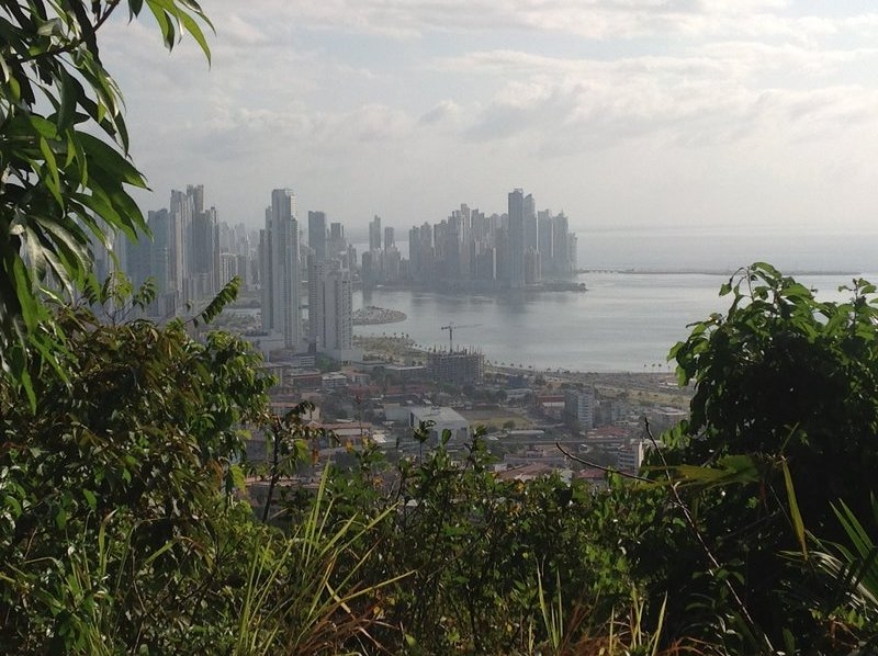 A view of the city from Ancon Hill