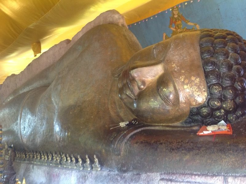 Jan 20. Near Kulin mountains is Preah Ang Thom, a 16th century Buddhist monastery notable for the giant reclining Buddha, the country's largest