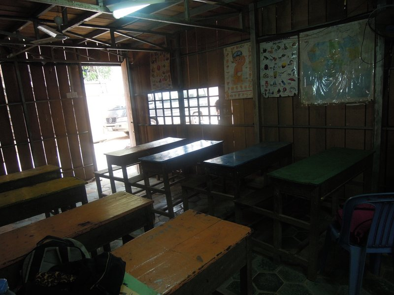 My Classroom. Next classroom picture will show some of the wonderful kids.