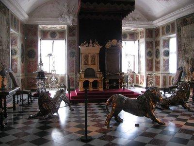 The Throne Room of Rosenborg Palace