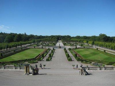 Drottningholm gardens