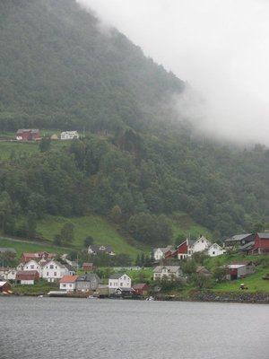 A beautiful little town on the fjord
