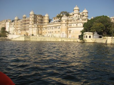 The City Palace complex on Lake Pichola, Udaipur